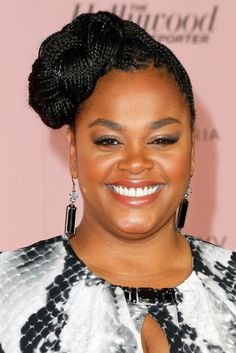 Jill Scott's braided updo at the 'Power 100: Women in Entertainment' breakfast in Beverly Hills is a far cry from her recent big chop but it's stunning nonetheless.