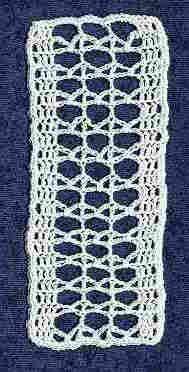 Lacet Bookmark #3 © July, 1998 by Lee Ann Hamm (Crochet...Gotta Love It!)...free pattern!