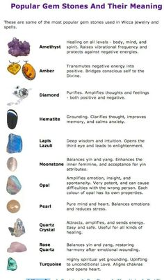 Healing Stones And Their Meanings | Gem stones and their meanings | Good to Know (Tips, tricks, and ideas ...