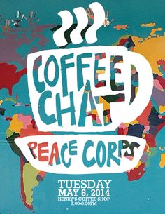 Come discuss international travel and development over a cup of joe! Peace Corps, Coffee Shop, Travel, Coffee Shops, Coffeehouse, Viajes, Destinations, Traveling, Trips