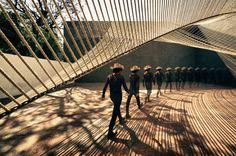ECO Pavilion by MMX : Image 1 of 10. SEE MORE: http://architypereview.com/25-pavilions-parks/projects/1004-eco-pavilion #Architecture, #Parks, #Pavilions, #Art, #Design, #Architects