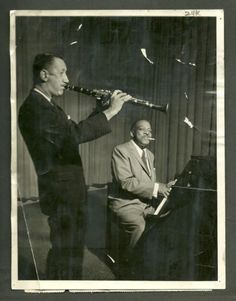 too cool. pee wee russell and count basie