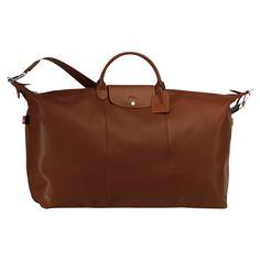 Travel bag - Le Foulonné - Luggage - Longchamp - Cognac - Longchamp United-Kingdom