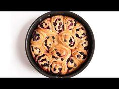 Lemon Blueberry Rolls Recipe| Laura in the Kitchen