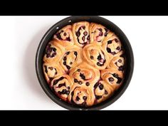 ▶ Lemon Blueberry Rolls Recipe - Laura Vitale - Laura in the Kitchen Episode 927 - YouTube