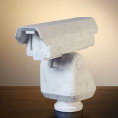 Ai Weiwei: Surveillance Camera, 2006, Marble. Art Experience:NYC http://www.artexperiencenyc.com/social_login