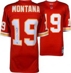 Joe Montana Kansas City Chiefs Autographed Nike Limited Jersey 77f448404