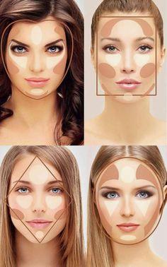 Verwerk je gezicht met contouren en helder het op , vraag achter meer info !