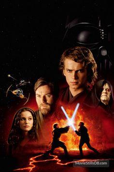 Star Wars: Episode III - Revenge of the Sith - Promotional art with Natalie Portman, Hayden Christensen, Ewan McGregor & Ian McDiarmid