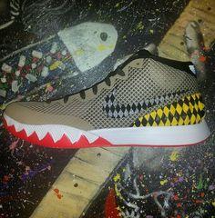 Nike Kyrie 1 Warhawk Sample PE Size 11.5 Nike Skills Academy  #Nike #BasketballShoes
