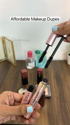 Makeup Dupes, Diy Makeup, Makeup Kit, Eyeshadow Makeup, Makeup Cosmetics, Makeup And Beauty Blog, Beauty Tips, Makeup Order, Asian Eye Makeup