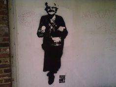 Walton Fine Arts is Bambi's Original Gallery. Bambi Street Artist is a Mystery Female Islington Urban Graffiti Artist, dubbed 'The Female Banksy'. Best Graffiti, Urban Graffiti, Dartmouth Park, Wall Writing, Hampstead Heath, How To Make Tea, Street Artists, Banksy, Bambi