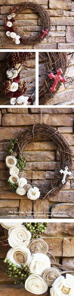 Grapevine wreath