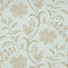 Bedford Square by Little Greene - Duck Egg / Gold : Wallpaper Direct Luxury Wallpaper, Red Wallpaper, Wallpaper Online, Blue Wallpapers, Fabric Wallpaper, Neutral Wallpaper, Green Floral Wallpaper, Bedford Square, Little Greene Paint Company