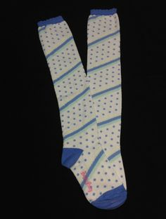 Marshmallow Border OTKs in Blue from Angelic Pretty - Lolita Desu