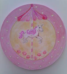 Le jolie carrousel .... un tableau disponible sur A little market - Les toiles de ludivinette