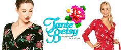 Tante Betsy - Hollandsk vintageinspireret brand. Fantastisk Retro. Super kjoler til Super priser