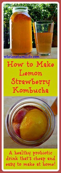 Lemon Strawberry Kom