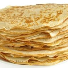 Crepes, made with coconut flour and oil. I'm almost positive that this photo isn't a photo of the actual crepes. Flour Recipes, Paleo Recipes, Low Carb Recipes, Cooking Recipes, Pancake Recipes, Waffle Recipes, Good Easy Recipes, Flaxseed Meal Recipes, Home Recipes