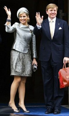 Queen Maxima of Netherlands couple