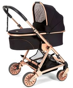 Mamas and Papas signature edition black/rose gold urbo² stroller