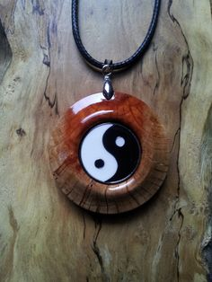 Yin Yang in She Oak by OurArtyCreations on Etsy