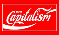 """""""Adbusters regularly posts culture jams that """"détourne"""" the message of ads to expose bad labor practices and the negative effects of certain products."""" This image shows that Coca-Cola, a company who tries to come off as family friendly, is nothing more than a capitalist corporation.  culture jamming - Buscar con Google"""