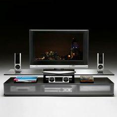 TV- und HiFi-Möbel: TV-Möbel Kristal von Fiam