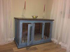 Hand crafted dog crate for sale