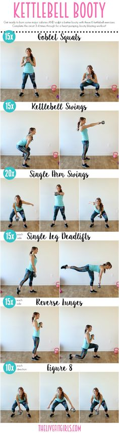 Kettlebell Booty Workout