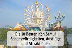 Du willst nach Koh Samui? Tipps zu Hotels, Sehenswürdigkeiten, Aktivitäten und Unternehmungen. #Thailand #KohSamui