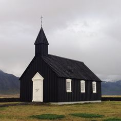 Black Church. Búðir, Iceland. | jonferry | VSCO Grid