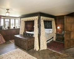 Image Result For Elizabethan Bedroom