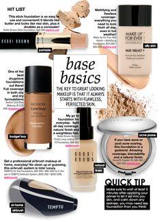 "Base Basics :: Make Up For Ever ""Mat Velvet+"" for oily skin All Things Beauty, Beauty Make Up, My Beauty, Beauty Secrets, Health And Beauty, Beauty Hacks, Hair Beauty, Beauty Tips, Flawless Beauty"