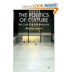 Price: $68.69 - The Politics of Culture: The Case for Universalism - TO ORDER, CLICK THE PHOTO