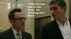 New side of Finch: Person of Interest