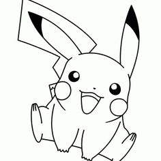 #Dibujo de #Pikachu para colorear Drawing Pictures, Pictures To Draw, Horse Coloring Pages, Ash Ketchum, Lol Dolls, Colorful Drawings, Coloring For Kids, Christmas Colors, Tatoos