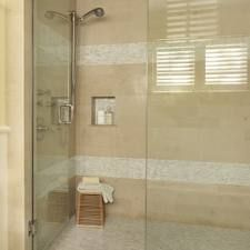 Small Shower Tile Ideas Stunning Tile Options For Small Bathrooms Bathroom With Clear Shower Door Small Bathroom Shower Tile Ideas Modern Bathroom Design, Contemporary Bathrooms, Bath Design, Modern Design, Bad Inspiration, Bathroom Inspiration, Bathroom Renos, Small Bathroom, Bathroom Ideas