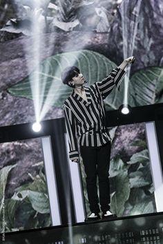 170805 - #Baekhyun at SMTown Special Stage in Hong Kong