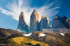 ストックフォト : Torres del Paine National Park