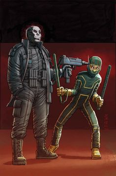 Browse the Marvel Comics issue Kick-Ass 3 Learn where to read it, and check out the comic's cover art, variants, writers, & more! Comic Book Artists, Comic Book Characters, Comic Character, Comic Books Art, Manhwa, Mark Millar, Arte Nerd, Alternative Comics, John Romita Jr