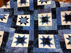 asimplelife Quilts: Finished Quilts 2012 - Lucky Stars pattern