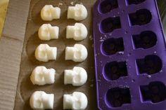 Make edible sugar skulls (basically big sugar lumps)