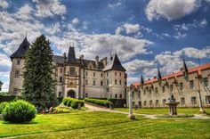 Castillo Zleby Hierba Césped. República Checa