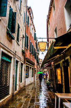 Venice's hidden streets