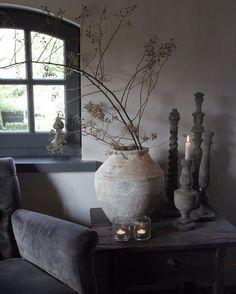 717 vind-ik-leuks, 56 reacties - Frieda Dorresteijn ( op Ins. Wabi Sabi, Interior Design Living Room, Interior Decorating, Decorating Ideas, Country Interior, Rustic Interiors, Modern Rustic, Decoration, Home And Living