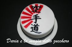 #Torta karate #Karate cake #Karate #Karate do #Japan #Japanforever