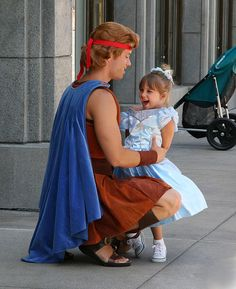 Hercules and Cinderella - How cute is this?!