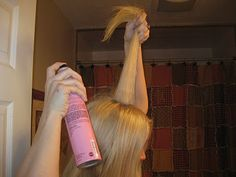 how to tease that hair so it stays all day!