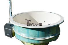 Glasvezel hot tub model voor terras
